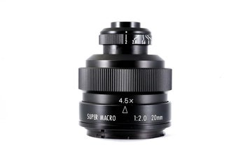 Zhongyi Optics Introduces a Compact 20mm f/2 Super Macro Lens For $199