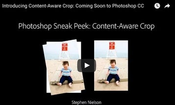Photoshop's Upcoming Content-Aware Crop Feature Straightens Photos Without Creating Awkward Compositions