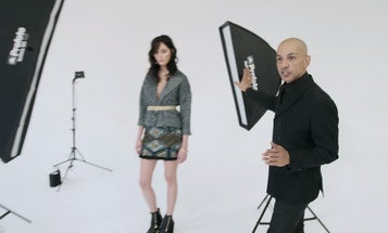 Watch This: Tweaking Light From Softboxes With Photographer Andrea Belluso