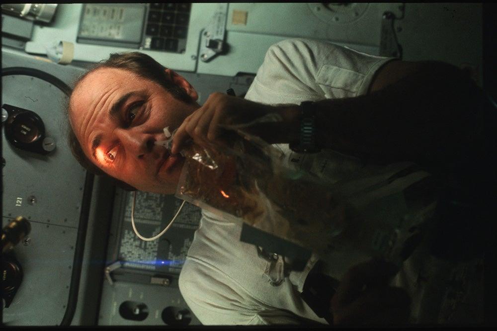 juice pack in space