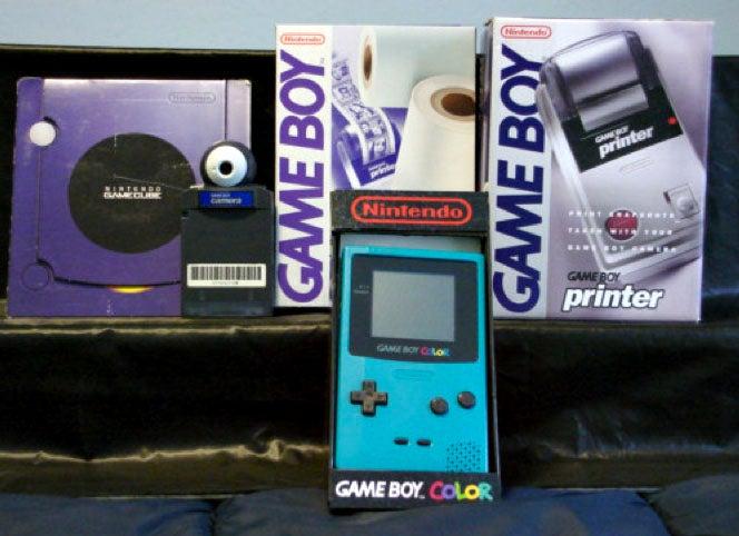 Gameboy Camera, Printer and Gameboy:  Current Bid $10.50