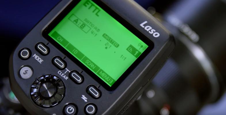 Phottix Laso Radio Flash Triggers Work With Canon's RT Wireless Flash System