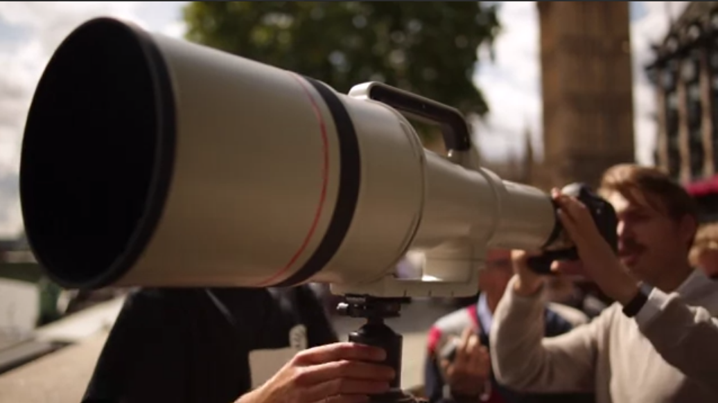 Canon 1200mm Ultra Telephoto Lens