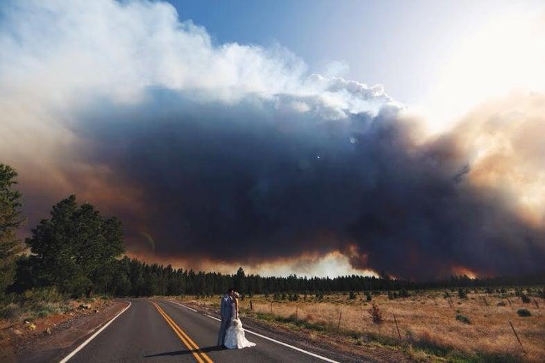 Josh Newton Wildfire Wedding Photos