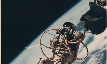 See the Vintage Space Photos that Put Our World Into Perspective