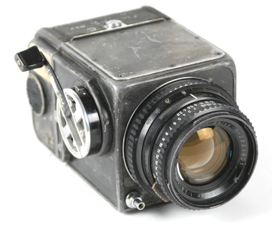 First Hasselblad Camera to Go to Space Up for Auction