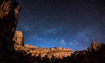 Head to the wilderness for better star photography