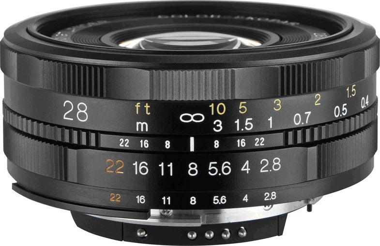 Cosina Voigtländer Color Skopar SL II 28mm F2.8 lens