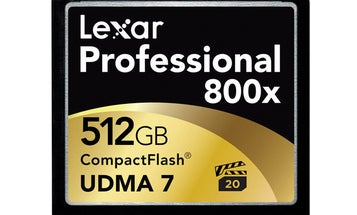 CES 2014: Lexar 800x 512GB CF Card with 75MB/s Speeds