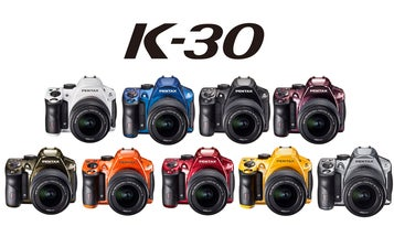Pentax K-30 DSLR Gets 15 New Color and Finish Options