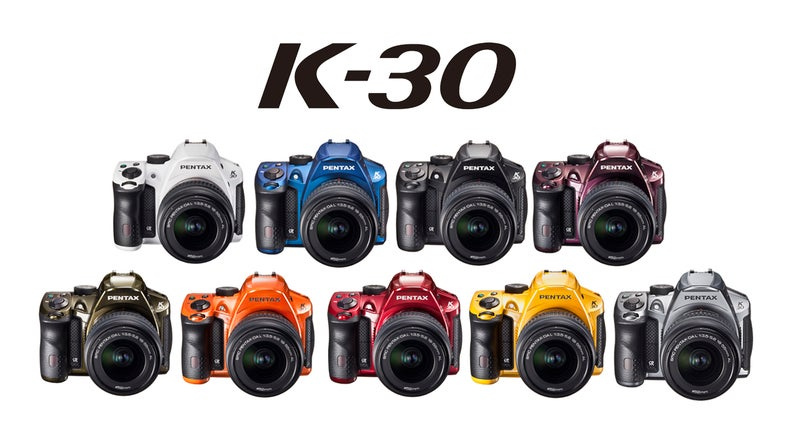 Pentax K-30 DSLR Colors