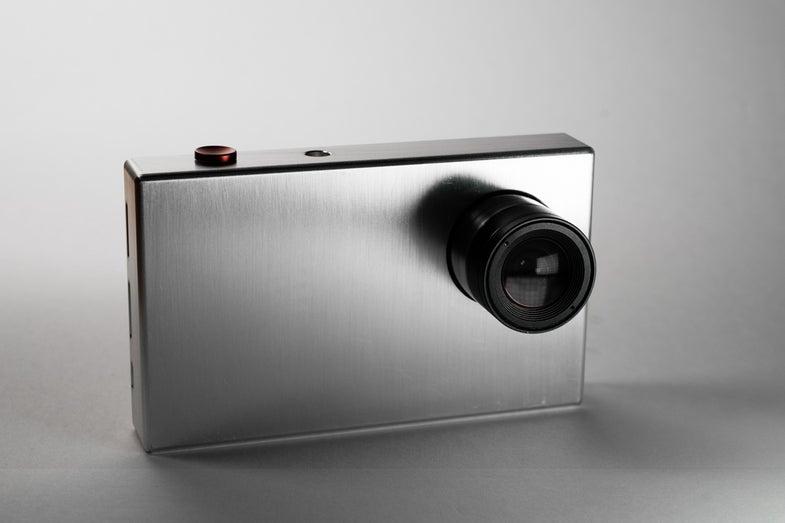 TinyMOS astrophotography camera