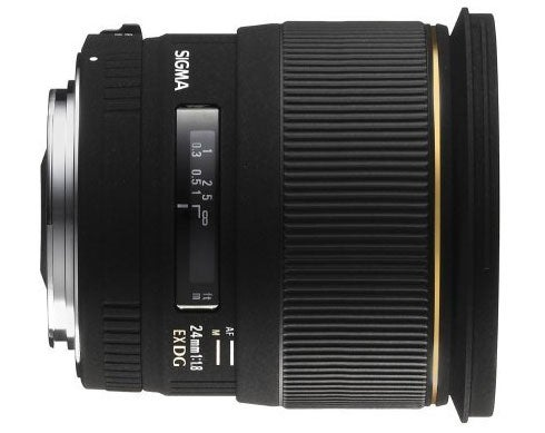 Sigma 24mm f/1.8 EX DG Macro