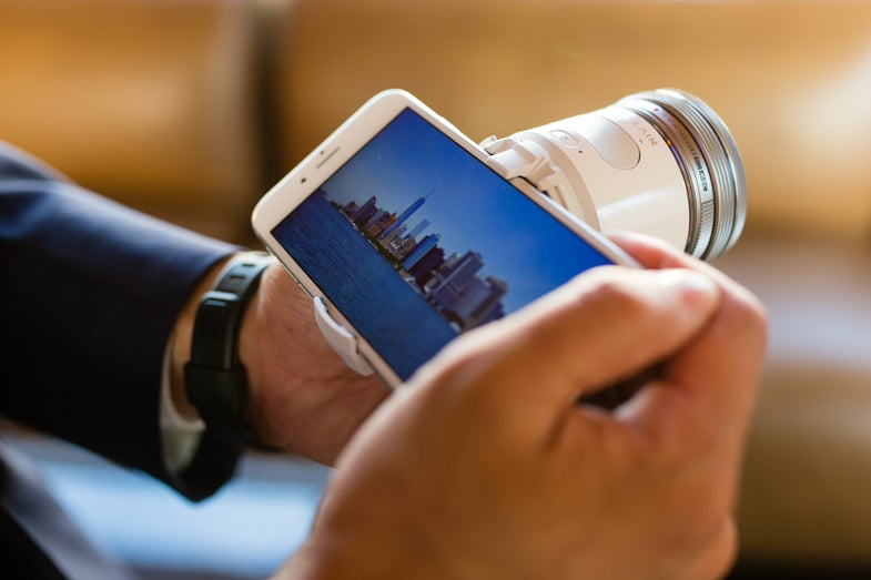 Olympus Air A01 Smartphone Companion Camera