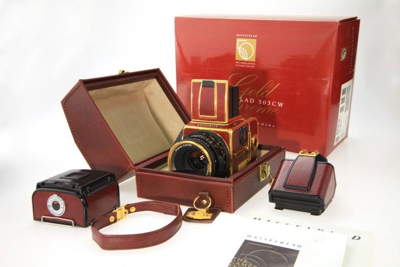 Hasselblad 500CW Gold Supreme Camera