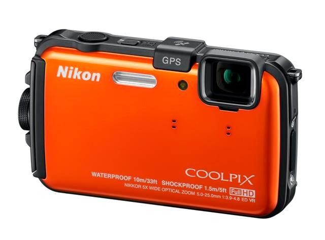 Nikon AW100 Front