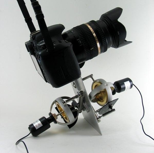 DIY gyroscopic stabilizer