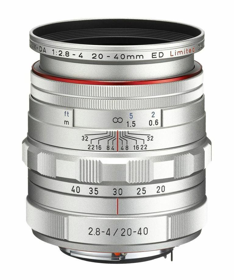 Pentax 20-40mm zoom lens
