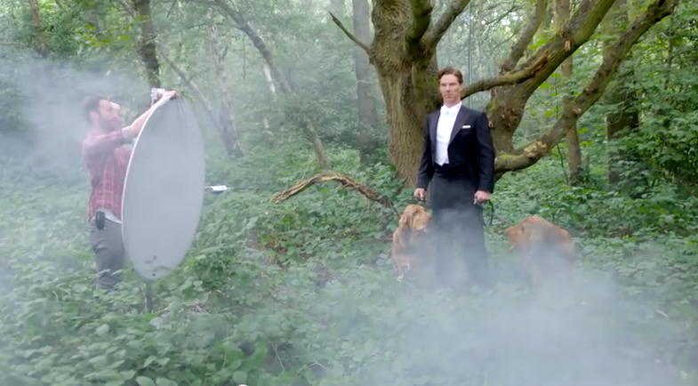 Behind the Scenes of a Benedict Cumberbatch Photoshoot for Vanity Fair