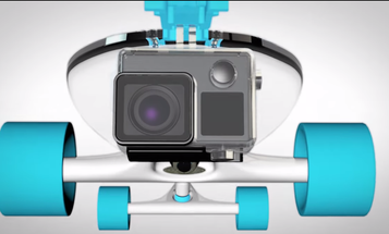 Jelly Skateboards RiserBlocks Have an Integrated GoPro Camera Mount
