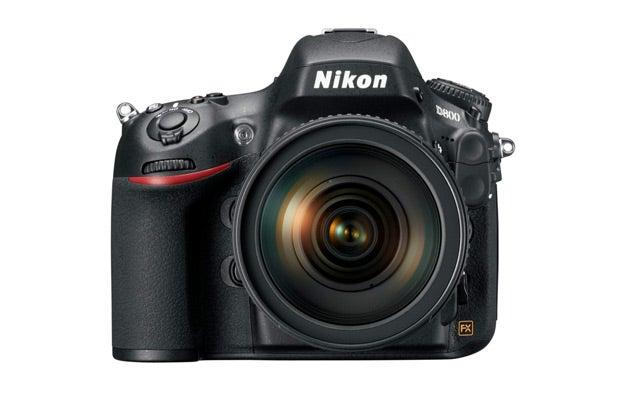 NIkon D800_Front