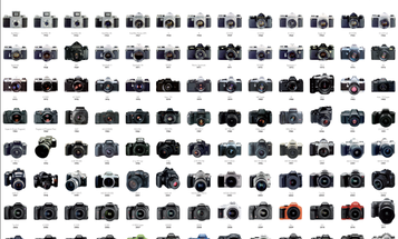 New Digital Posters Trace the History of Pentax Cameras
