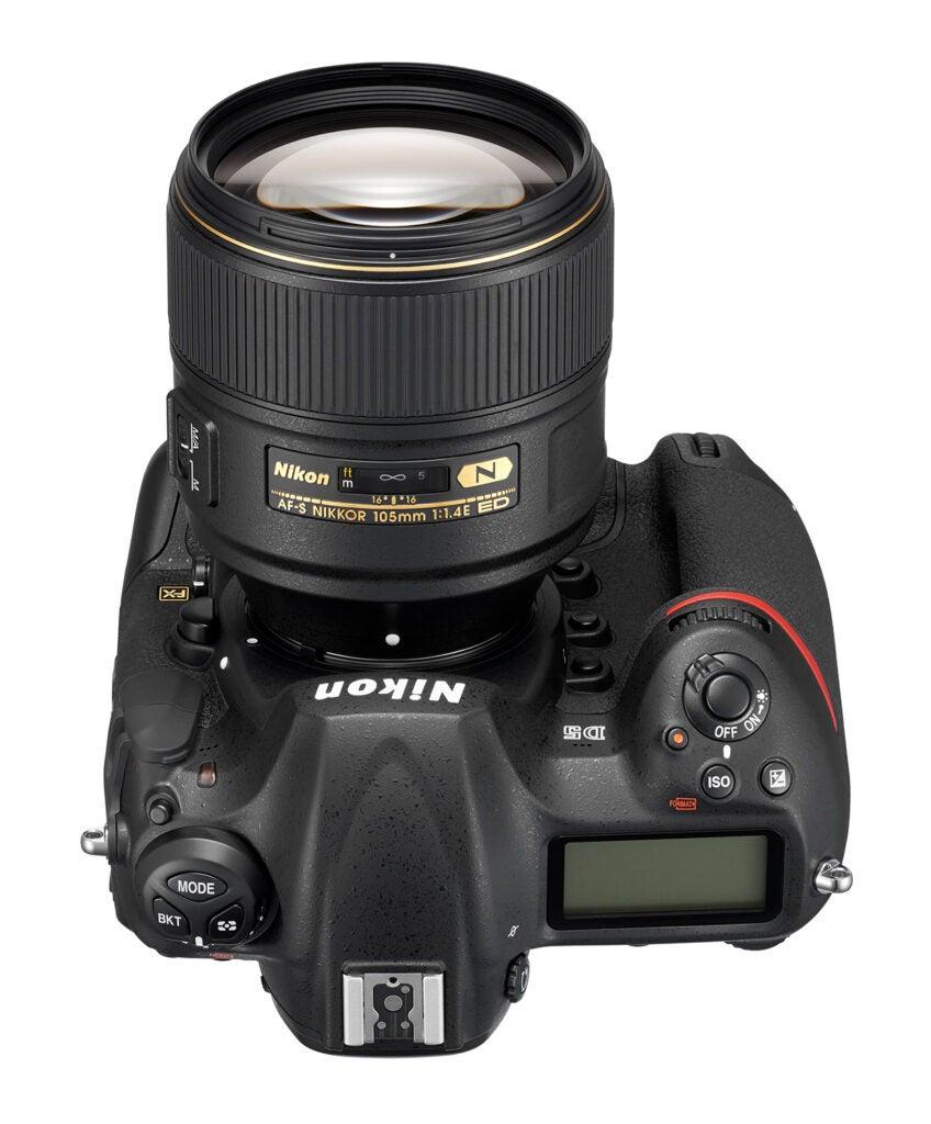 Nikon 105mm f/1.4 prime lens