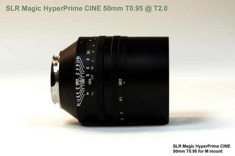 SLR Magic HyperPrime CINE 50mm T0.95