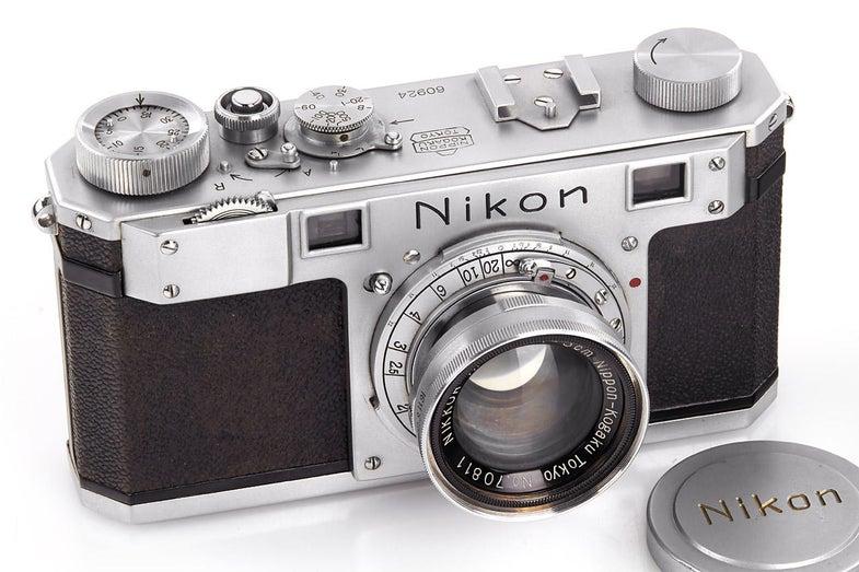 Oldest Surviving Nikon Camera Up For Auction