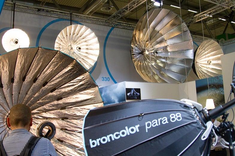 Broncolor Parabolic Umbrella Reflectors