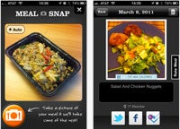 iPhone food app thumb