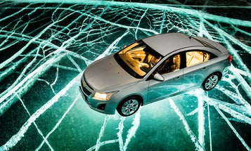 How To Light a Car Photoshoot Through Three Feet of Ice