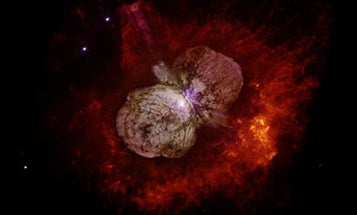 Imaging the Brightest Supernova Ever