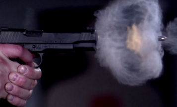 Here's a Gratuitous Video of a Bullet Leaving a Gun at 73,000 Frames Per Second