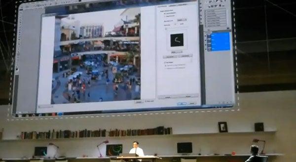 Adobe De-Blur Tech