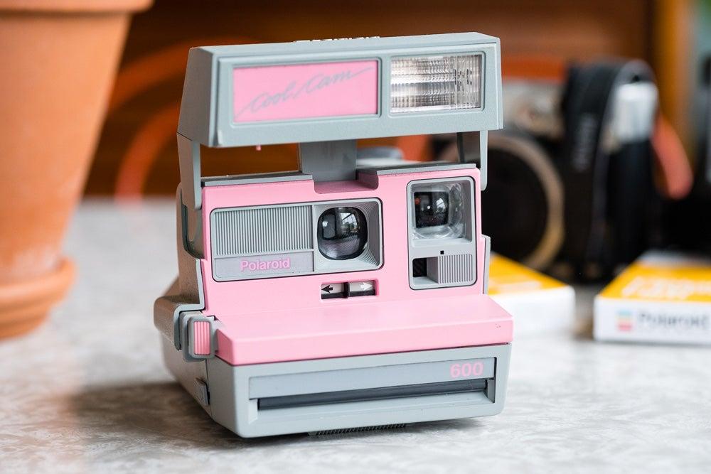 Pink Polaroid Cool Cam