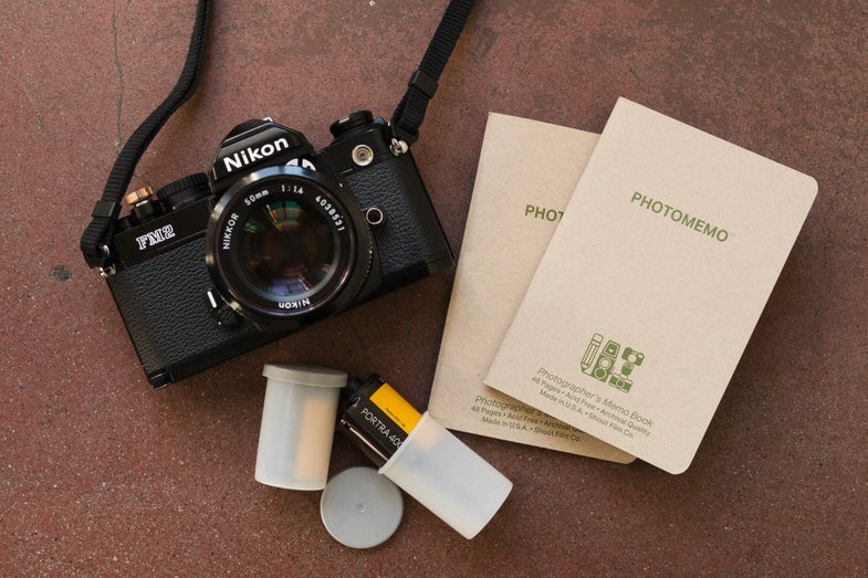 Shoot Film Co. PhotoMemo Film Photographer's Notebook