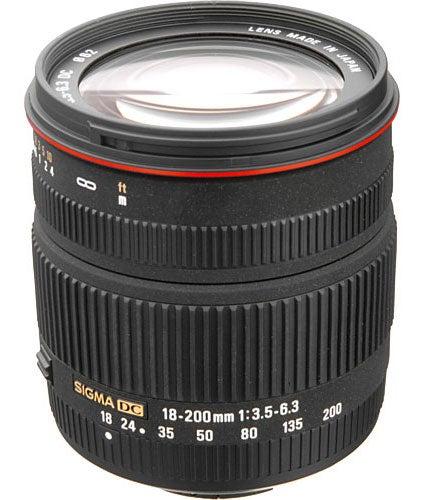 SIGMA 18–200mm f/3.5–6.3 DC