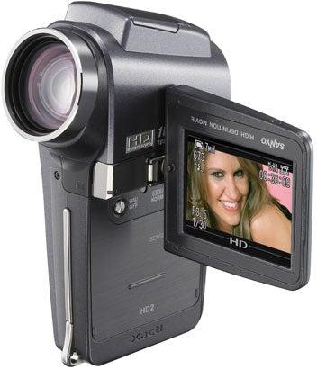 """Sanyo-Xacti-VPC-HD2-digital-camera-with-720p-video"""