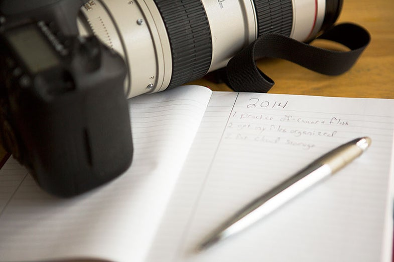 2014 Photography Resolutions
