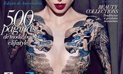Model Coco Rocha's Elle Brazil Cover Shows More Skin Than She Wanted Thanks to Photoshop