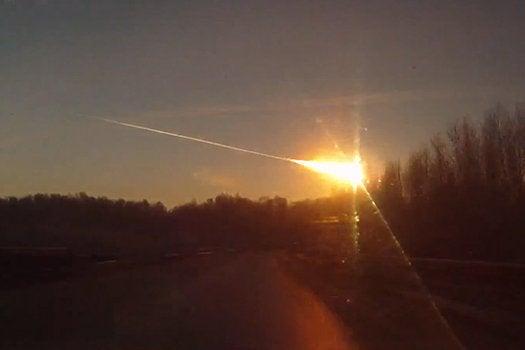 Russian Meteorite Video