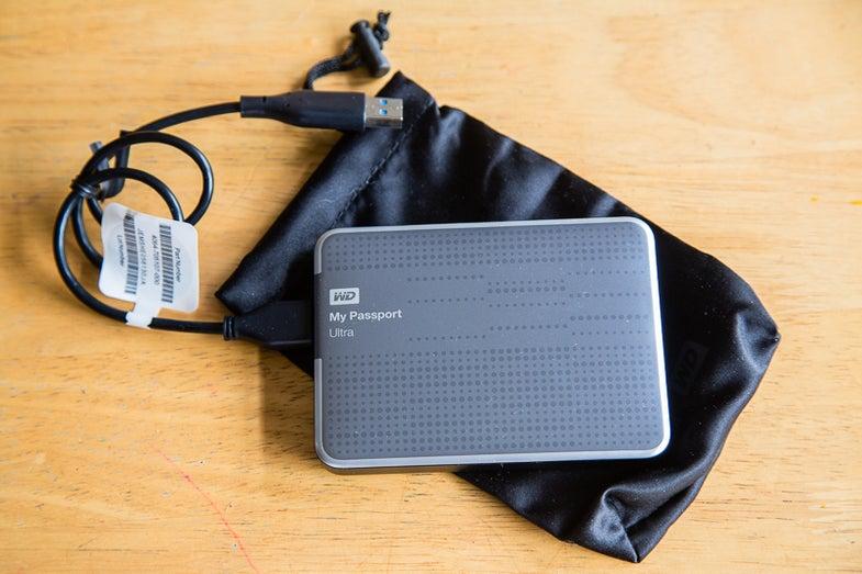 Western Digital My Passport Ultra External Harddrive