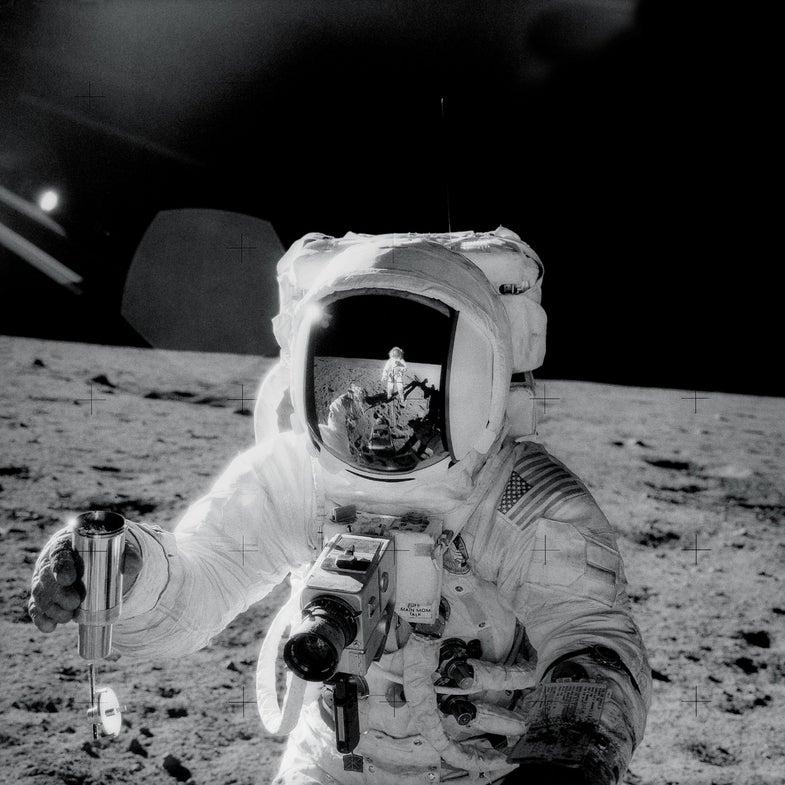 Nasa moon camera