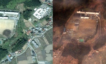 Google Earth Images Document the Effect of the Disaster in Japan