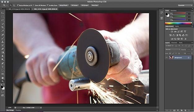 Adobe Photoshop cs6 beta main
