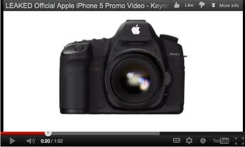 Parody Ad Makes iPhone 5 Into a DSLR