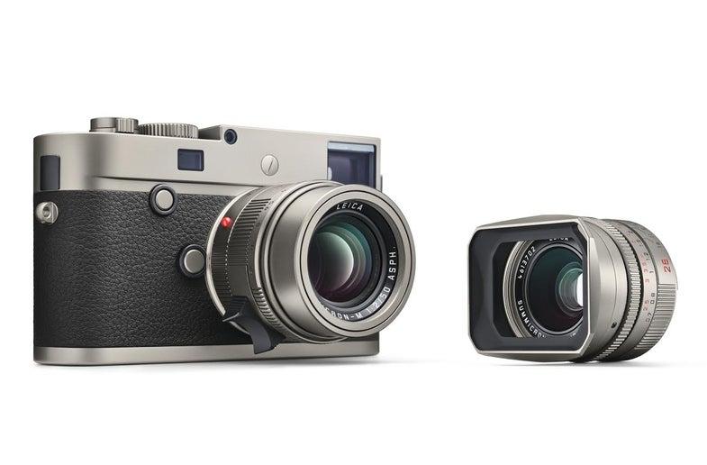 Leica M-P Titanium Limited Edition Camera Kit