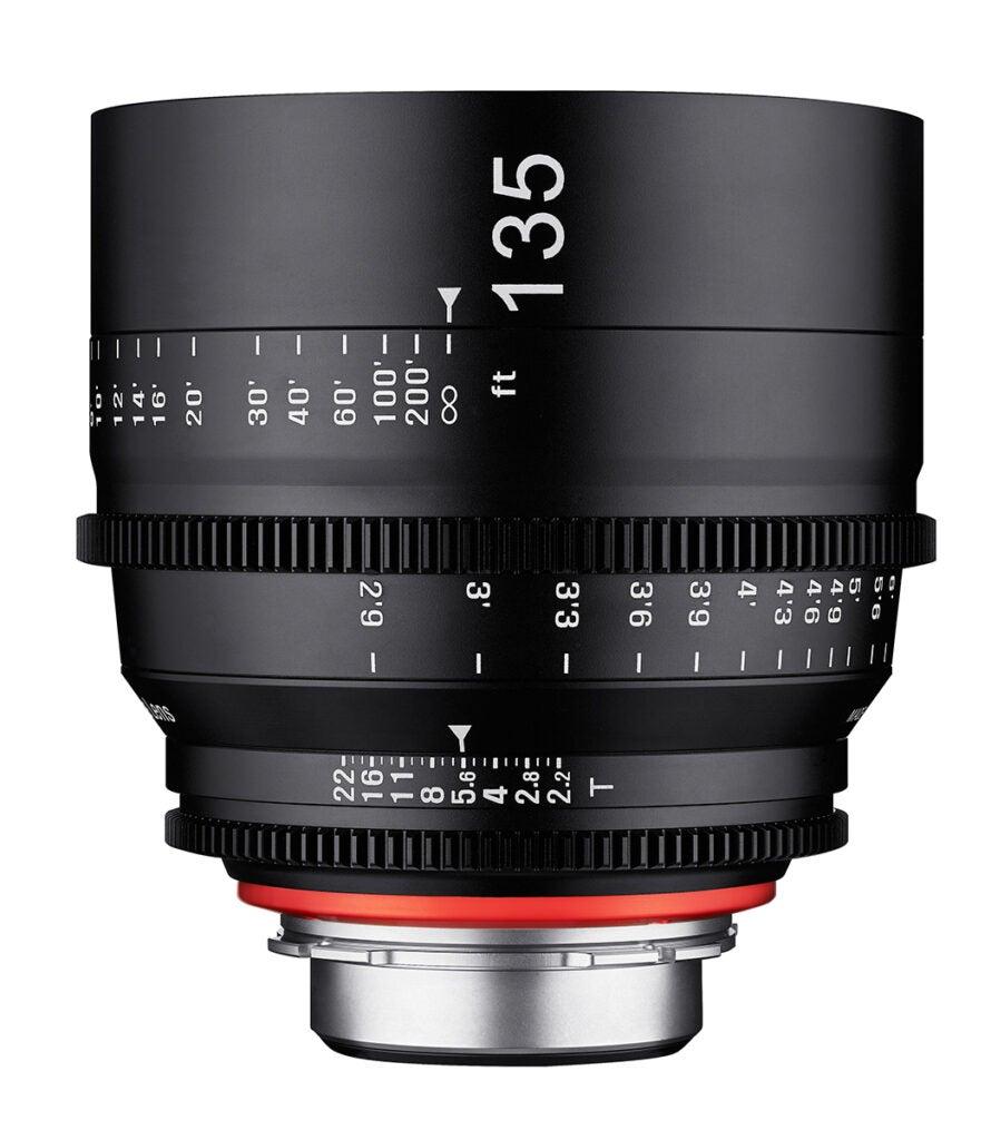 Rokinon Xeen 135mm T2.2 Cinema Lens