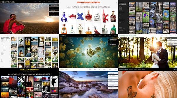 PhotoShelter Beam Portfolio Sites